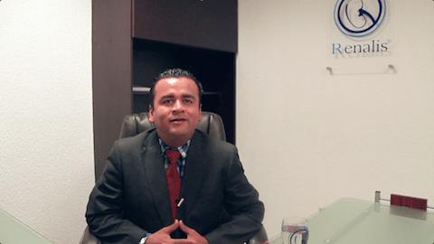 Ricardo Arenas – Paciente con Insuficiencia Renal